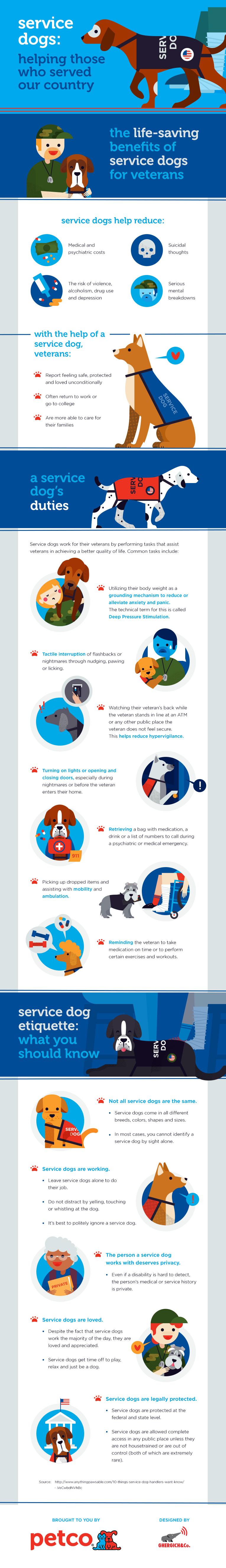 PetCo Service Dog InfoGraphic