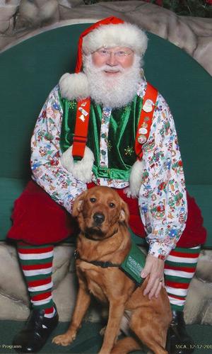 Ricki and Santa