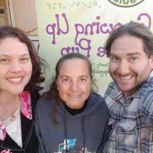 Amie, Cory and Matt at mixer
